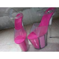 Zapatillas Modelo Pink Impotadas Talla 5 Y 5 1/2 Plataforma4