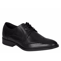 Zapatos Vestir Oxford Bostoneanos Negro