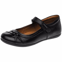 Zapatos Coqueta T/piel 55900 Negro Niña Pv