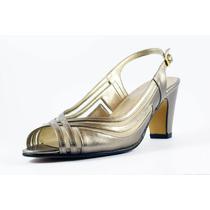 Zapato David Corsaro Piel C/malla Color Seda Modelo 90397
