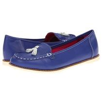 Zapatos Mocasin Dr Martens Azul Rey Originales Cholo Hipster