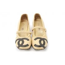 Zapatos Beige Chanel