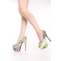 Zapatos Altos Con Plataforma Size 28 Mex,11 U Hermosos!