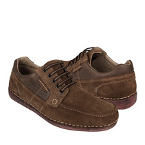 Lobo Solo Zapatos Caballero Casuales 8893 Gamuza Tabaco