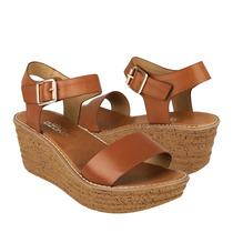 Capa De Ozono Zapatos Dama Sandalias 31864-1 Simipiel Camel