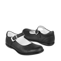 Calzado Chabelo Zapatos Niños Clasicos 44940-a 18-21 Piel N