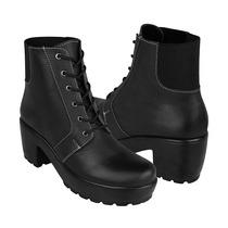 Vicenza Zapatos Dama Botas 5551 Piel Negro
