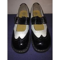 T.u.k Anarchic Zapato Mary Jane Mujer # 6 Mexicano Martens