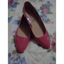 Zapatos Flats Chantal Color Salmon P/dama 4 Mex.