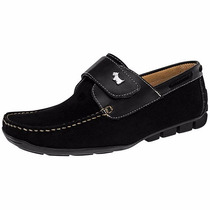Zapatos Ferrioni Casuales T/piel C5101ng Negro Oi