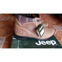 Botas Jeep Mujer 5540 Nobuck Miel 23