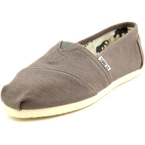 Toms Classics Lienzo Holgazanes Zapatos