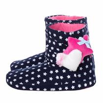 Pantuflas Tipo Botas Dama Exclusivos Diseños Estrellas