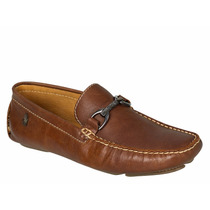Mocasines Zapatos Polo Café Flother