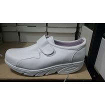 Zapato Blanco Fit Enfermera Comodo