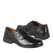 Flexi Zapatos Caballero Vestir 70301 Piel Negro