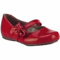 Zapatos Coqueta T/piel 32106k Rojo Niña Pv