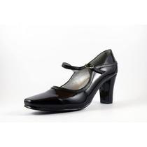 Zapato David Corsaro Charol C/piel Negro Modelo 7824