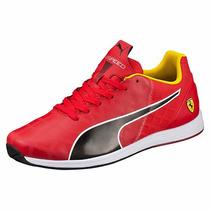Tenis Puma Ferrari Evospeed 1.4 Mid Nuevo 2016 Choclo Rojo