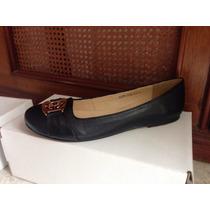 Zapatos Flats Talla Grande 8 Mexicano, Negro Interior Piel