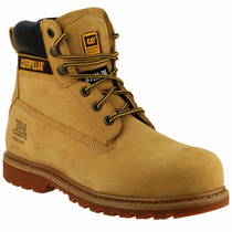 Caterpillar Botas Second Shift Casquillo Metal Piel Natural