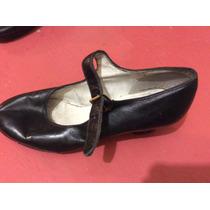 Zapatos De Danza . Marca 20 Cms