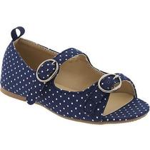 Zapato Flats Old Navy Para Niñas Color Azul