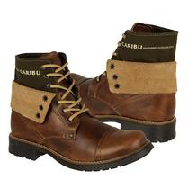 Caribu Zapatos Caballero Botas 210 Piel Miel