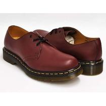 Zapatos Dr Martens Mod 1461 #9 Uk Cherry Red Envio Inmediato