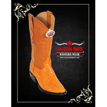 Botas Vaqueras Originales Los Altos Boots Piel Avestruz 27.5