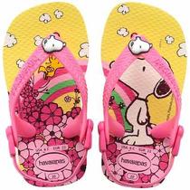 Havaianas Sandalia Para Bebé De Snoopy