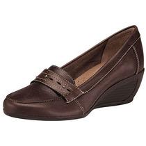 Zapatos Piel Dama Richi 1706 Cafe Tacon 5 Cm Oi
