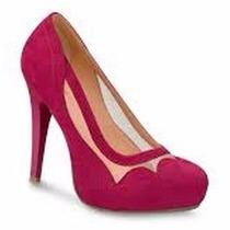 Oferta! Elegantes Zapatillas Pump Fiusha Andrea Tipo Gamuza