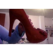 Zapatillas Carlo Rosseti Color Rojo