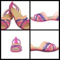 Crocs Zapatos Sandalias En Talla 4 Chanclas Playa Mujer