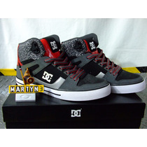 Tenis D C Shoes Spartan High Wc Originales Importados