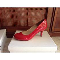 Zapatillas Talla Grande 8.5- 9 Mexicano, Color Rojo Tacón