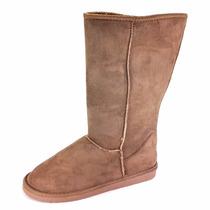 Botas Invernales Para Mujer Furor Textil Camel