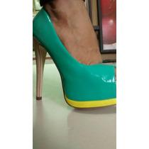 Zapatos Plataforma Dama Glaze