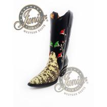 Bota Lizard Original Lunares Junior Cowboy Envió Gratuito.