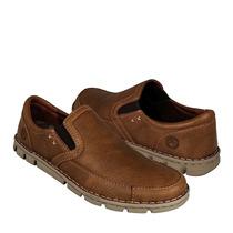 Lobo Solo Zapatos Caballero Casuales 7681 Piel Cedro