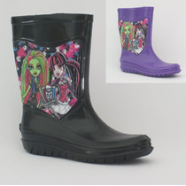 Bota Para Lluvia Niña, Monster High, Original