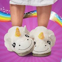 Pantuflas Unicornio Mujer Niña