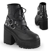 Botas Marca Demonia Assault-101 Ebm Industrial Goth Punk