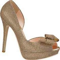 Elegantes Zapatillas Zapatos Abiertos Andrea Color Cobre