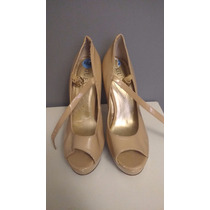 Zapatillas Guess Nude Beige Pumps Zapatos 24.5