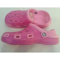 Sandalias Para Dama Tipo Crocs De Descanso Playa O Baño