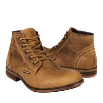 Caribu Zapatos Caballero Botas 266 Piel Miel