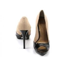 Zapatos Negros Con Beige Lilly