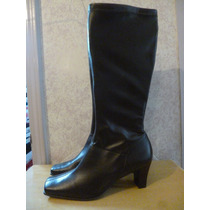 Naturalizer Elite Botas Color Cafe Talla 7 Mexicano